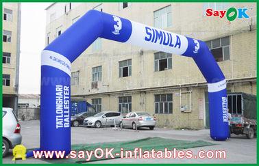 China Ereignis-im Freien aufblasbarer Bogen PVCs, aufblasbarer Endbogen Sport Finsh fournisseur