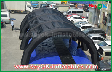 Customized 0.55 mm PVC tarpulin Inflatable Tunnel Tent for Advertising / Promotion