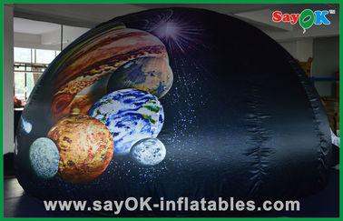 China Oxford-Stoff-aufblasbares tragbares Planetariums-Hauben-Zelt für das Kinderspaß-Lernen fournisseur