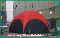China Rotes Hexagon-großes aufblasbares Zelt PVC 3Ms im Freien für Berufung Firma