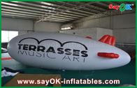 China 0.2mm PVCs Helium-Zeppelin-Flugzeug des kundenspezifisches Logo-aufblasbares Helium-Ballon-5m usine