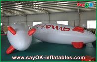 China 5m sich hin- und herbewegender annoncierender aufblasbarer Ballon-Helium-Flugzeug-Zeppelin für Förderung usine