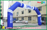 Gute Qualität Aufblasbares Luft-Zelt & Ereignis-im Freien aufblasbarer Bogen PVCs, aufblasbarer Endbogen Sport Finsh disponibles à la vente
