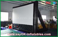 China aufblasbares Kinoleinwand 7mLx4mH PVC-Material mit Rahmen für Projektion usine