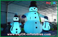 China Oxford-Stoff-aufblasbare Feiertags-Dekorations-riesiger Weihnachtsschneemann für Partei usine