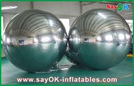 China Großer aufblasbarer PVC-Spiegel-Ball kundengebundene Größe für Ereignis-Dekoration usine