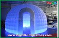 Gute Qualität Aufblasbares Luft-Zelt & Stoff-aufblasbares Iglu-Luft-Zelt-rundes Hauben-Zelt 210D Oxford mit LED-Licht disponibles à la vente