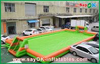Gute Qualität Aufblasbares Luft-Zelt & 0,55 aufblasbare Sportspiel-tragbarer Fußballplatz/Fußballplatz PVCs disponibles à la vente