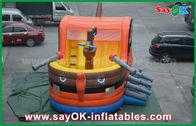China 0,55 PVC-Piraten-Boots-Schlag-aufblasbares springendes Schloss für Kind-SGS-Bescheinigung usine