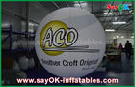 China 0.2mm PVCluftdichte aufblasbare Grundballone wasserdicht mit Logo-Druck usine