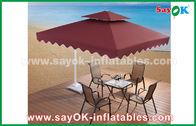 China 2,5 * 2.5M Werbungssun Regenschirm-Strand-Garten-Patio-Regenschirm usine