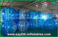 China Dauerhafte aufblasbare Sportspiele/transparenter aufblasbarer Blasen-Ball PVCs TPU usine