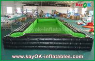 China Tragbare riesige äußere PVC-Planen-aufblasbarer Fußball/Tabellentennisplatz mit CER Gebläse usine