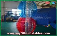 China Transparente aufblasbare Sportspiele TPU, riesiger menschlicher Körper-Blasen-Ball usine