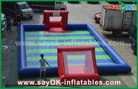 China Dauerhafte PVC-Planen-aufblasbarer Sportspiel-/Kinderaufblasbarer Fußball usine