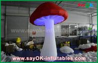 China Große rote und weiße aufblasbare Beleuchtungs-Dekoration für Partei/Ereignis usine