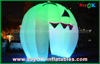 Gute Qualität Aufblasbares Luft-Zelt & Nette aufblasbare Feiertags-Dekorationen, die Geist-Tür/großen aufblasbaren Kürbis beleuchten disponibles à la vente