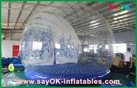 China aufblasbare Feiertags-Dekorationen 3m Durchmessers/transparente aufblasbare Chrismas-Schnee-Kugel für die Werbung usine