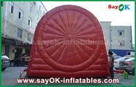 China Lustige rote aufblasbare Sportspiele/dauerhafte aufblasbare Dartscheibe Fußball PVCs Tarpulin usine