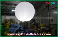 China Gewohnheit 1.5m aufblasbare Beleuchtungs-Dekoration Durchmessers für die Werbung, Stand-Ballon mit Stativ usine