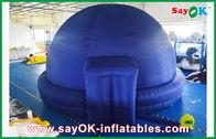 China Schwarzer aufblasbarer Planetariums-Hauben-Projektions-Stoff für das Unterrichten Firma
