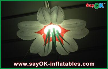 Oxford-Stoff führte riesige aufblasbare Beleuchtungs-Dekoration 2m/2.5m