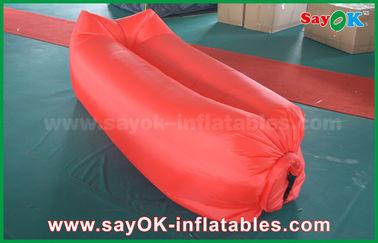 Aufblasbares Strand-SchlafenLuftsack-kampierendes Lügentaschen-leichtöffnendes Nylonmaterial