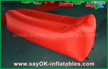 Nylonstoff-knallen leichter SchlafenLuftsack oben den aufblasbaren Sofa-Luft-Couch-Strand