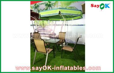 Setzen Sie Garten im Freien Sun freitragendes Nylon-Material des Patio-Regenschirm-190T auf den Strand