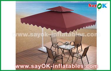 2,5 * 2.5M Werbungssun Regenschirm-Strand-Garten-Patio-Regenschirm