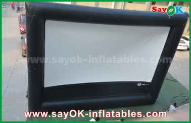 Aufblasbares Luftkino, riesige aufblasbare Kinoleinwand im Freien für die Werbung/Unterhaltung