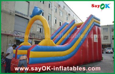 Besonders angefertigt 0,55 PVC-Planen-aufblasbarem Prahler-Dia für Wasser-Spaß/Wasser-Park
