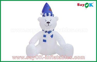 210 Stoff-Weihnachtsschneemann-aufblasbare Feiertags-Dekorationen D Oxfor besonders angefertigt