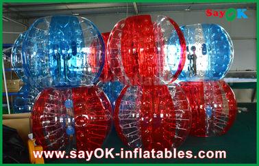 Transparenter aufblasbare Fußball-Blasen-menschlicher Ball PVCs/TPU für Erwachsenen/Kind