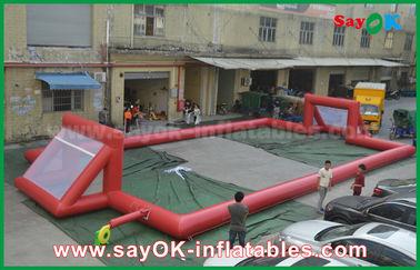 Riese 0.5mm PVC-Planen-aufblasbarer Fußballplatz, tragbarer aufblasbarer Fußballplatz
