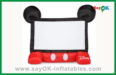 Lustige aufblasbare Kinoleinwand-mobiler aufblasbarer Projektor-Schirm Kinder-Disneys