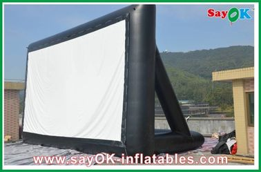 Projektions-Stoff aufblasbarer Fernsehschirm 6 x 3m CER/SGS Zertifikat